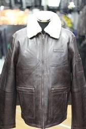 46bfef89 Кожаные куртки пилот мужские зимние - купить по выгодной цене в ...